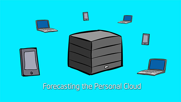 Forecasting the Personal Cloud