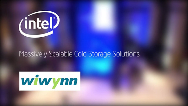 Open Compute Storage Servers built by Wiwynn with Intel Atom processor C2000 product family