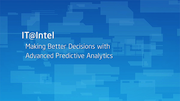 Making Better Business Decisions with Advanced Predictive Analytics